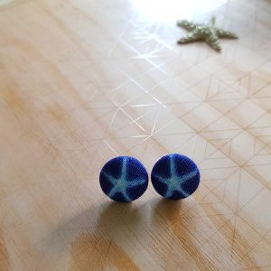 Mates With Grace Starfish Stud Earrings