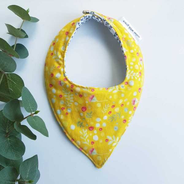 th Grace Golden Bandana Bib