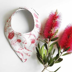 Mates With Grace Bottle Brush Bandana Bib