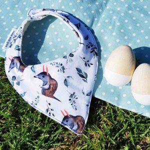Mates With Grace Easter Bilby Bandana Bib