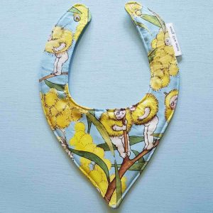 Mates With Grace May Gibbs Blossom Babies Sky Bib