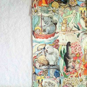 Mates With Grace May Gibbs May's Tales Burp Cloth