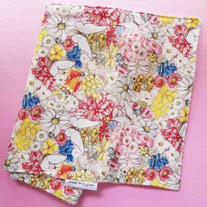 Mates With Grace May Gibbs May's Garden Burp Cloth