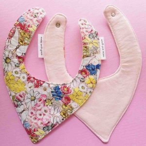 Mates With Grace May Gibbs Mays Garden Bandana Bib