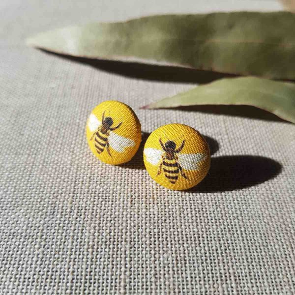Mates With Grace Honey Bee Earrings