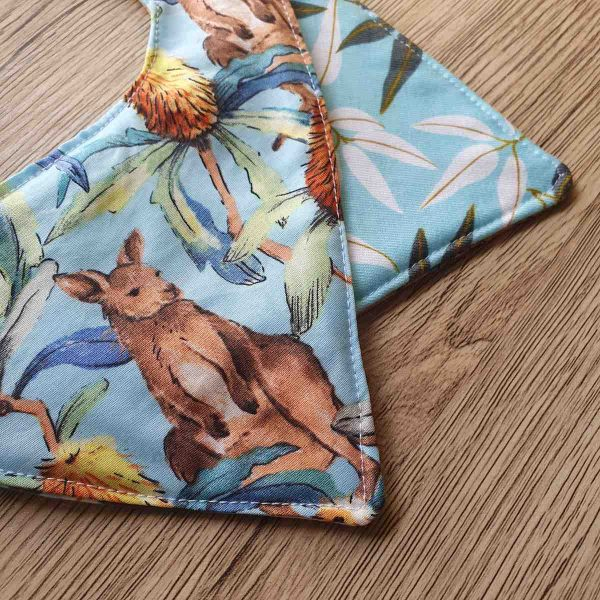 Mates With Grace Banksia Kangaroo Bib