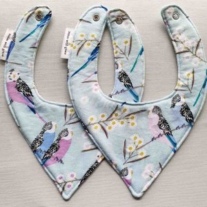 Mates With Grace Budgies Organic Bib